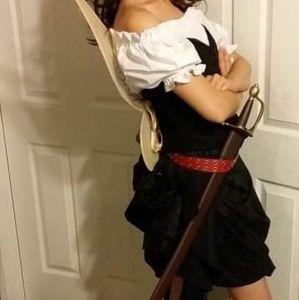 Zarina Pirate Fairy Adult Costume Handmade